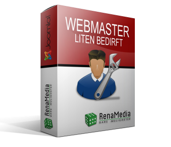 Webmaster - Liten bedrift
