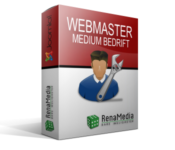 Webmaster - Medium bedrift