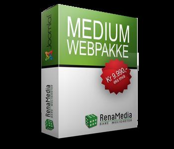 Webpakke - Medium