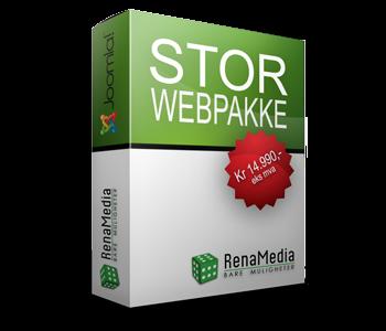 Webpakke - Stor